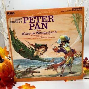 VTG 1960 Walt Disney Peter Ran RCA 33Rpm Record